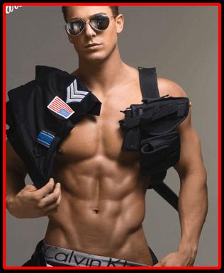 Mannelijke strippers
